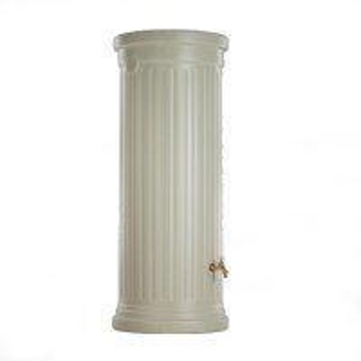 Design Regenton Zuil Beige 500 Liter