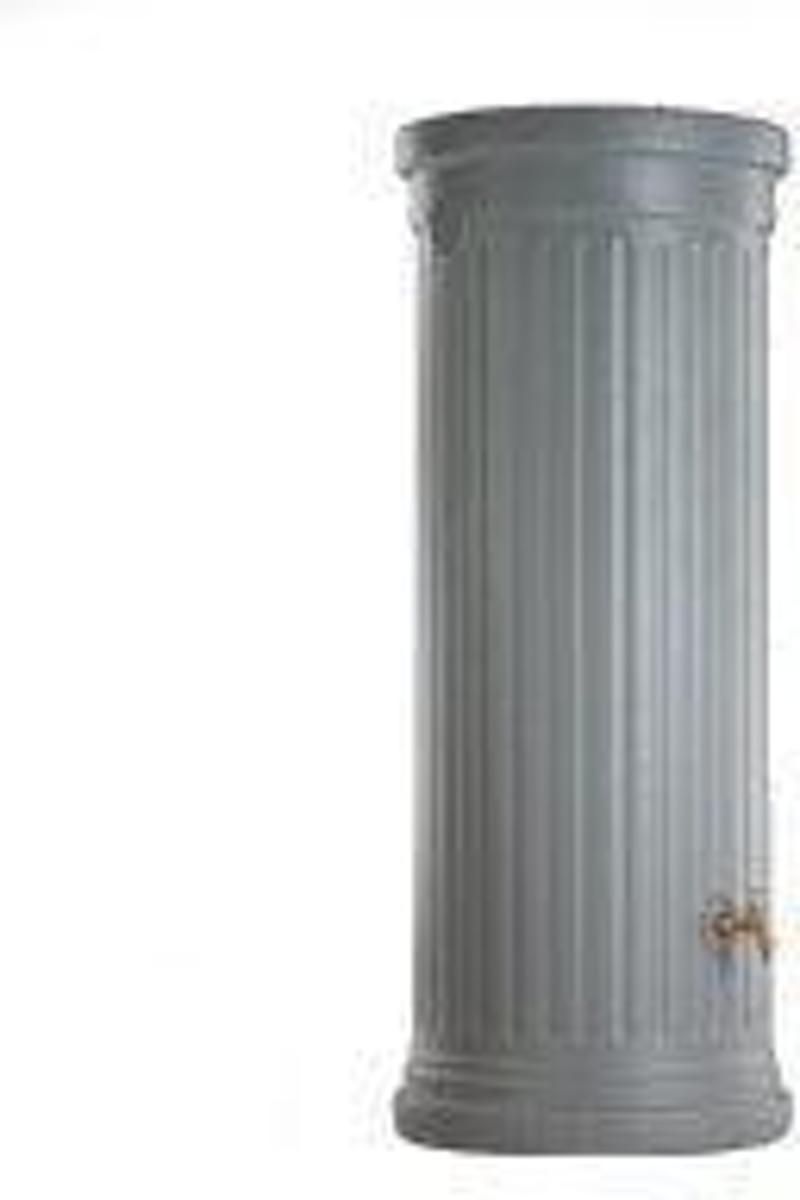 Design Regenton Zuil Grijs 500 Liter