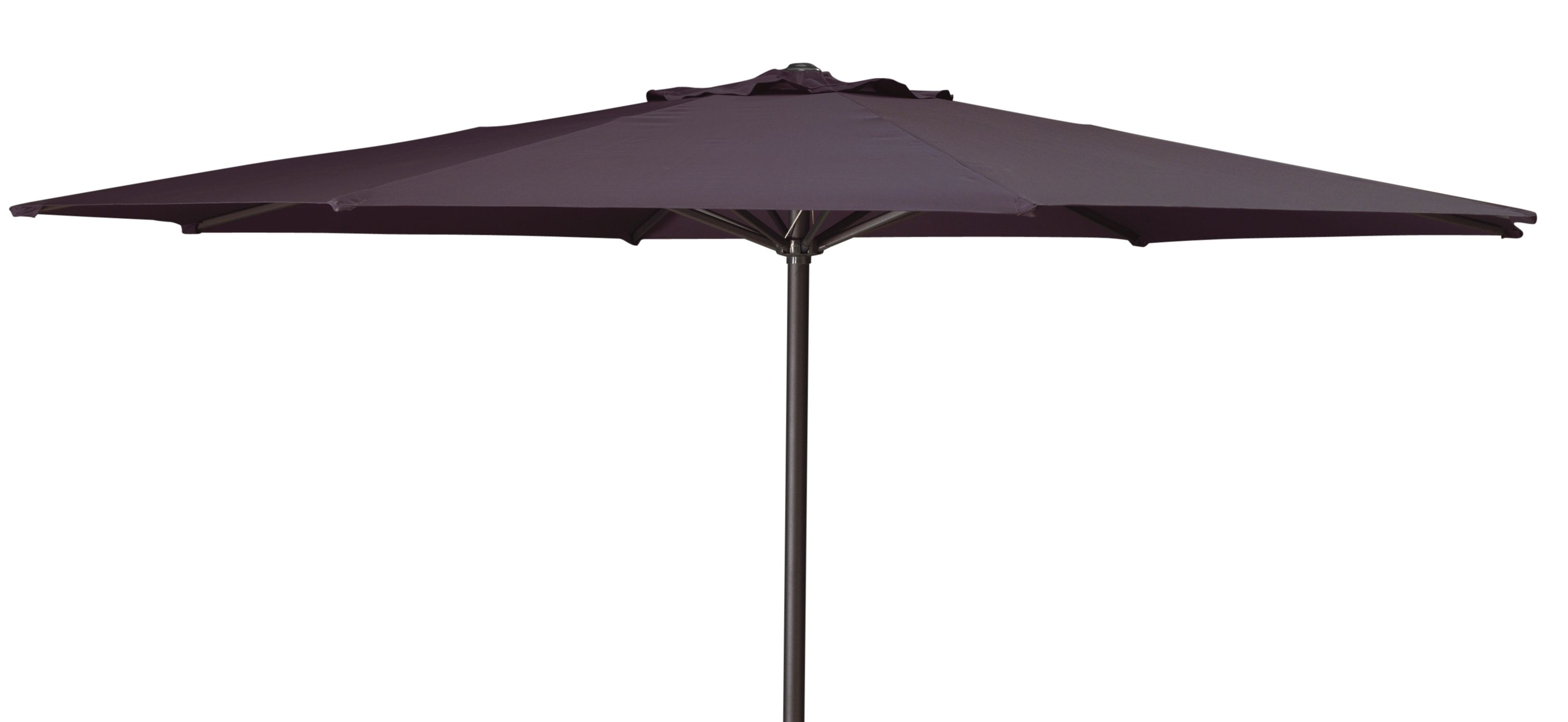 Parasol Sandino Rond Taupe ?3 Meter