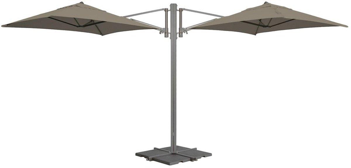 Madison parasol Murano - taupe - 180x180 cm