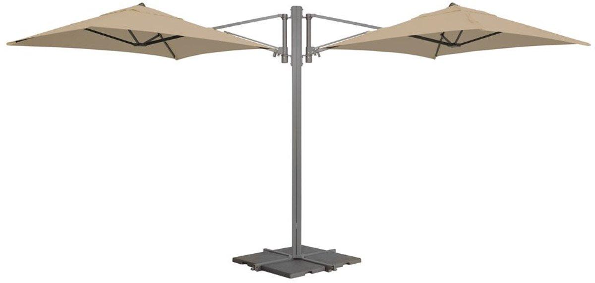 Madison parasol Murano - ecru - 180x180 cm