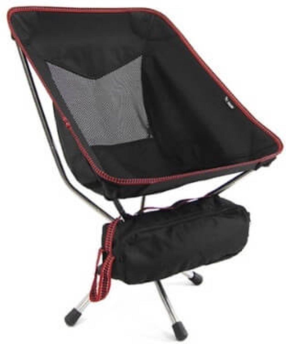 Talon campingstoel Swivel Pivot Short - draaibaar - Ultra licht- Zwart