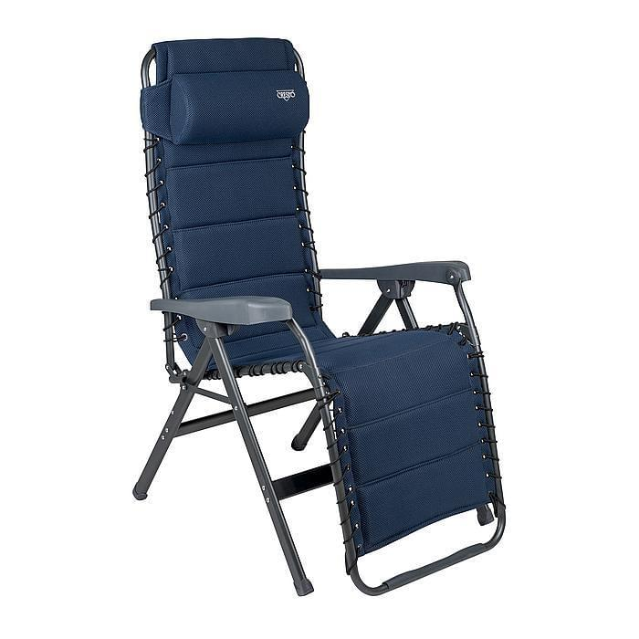 Crespo AP-232 Air DeLuxe Relaxstoel - Blauw