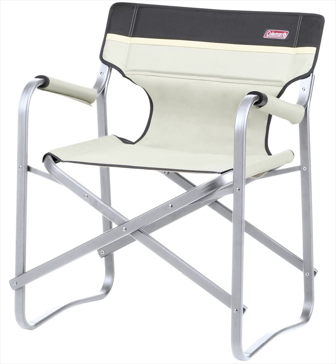 Coleman Deck Chair - Campingstoel met Tafel -  - Wit
