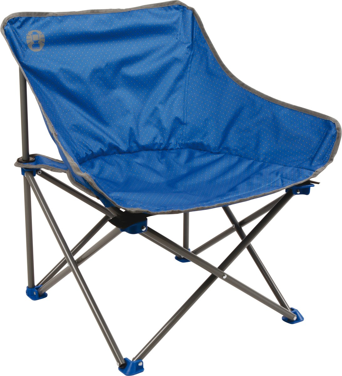 Coleman campingstoel kick-back blauw