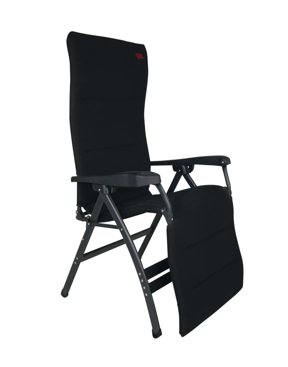 Crespo AP 252 XL Air deLuxe Relaxstoel Zwart
