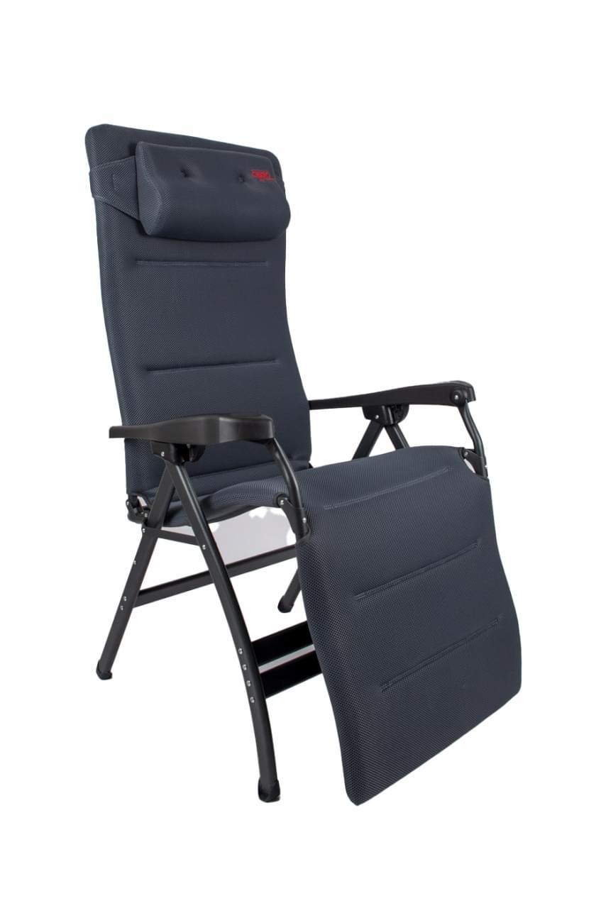 Crespo AP 252 XL Air deLuxe Relaxstoel Grijs