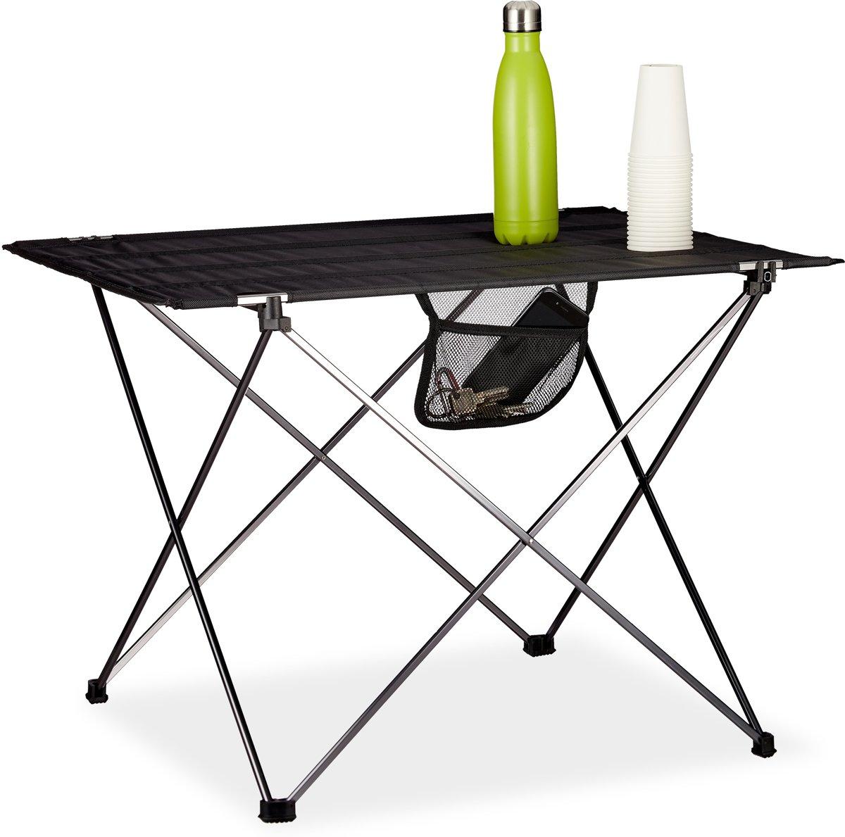 relaxdays campingtafel inklapbaar - kampeertafel - klaptafel - picknicktafel - draagzak