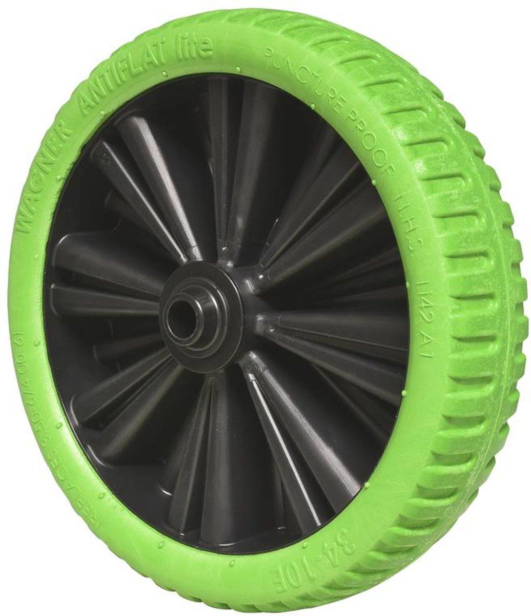 WAGNER System Kruiwagenwiel, groen, 320 mm