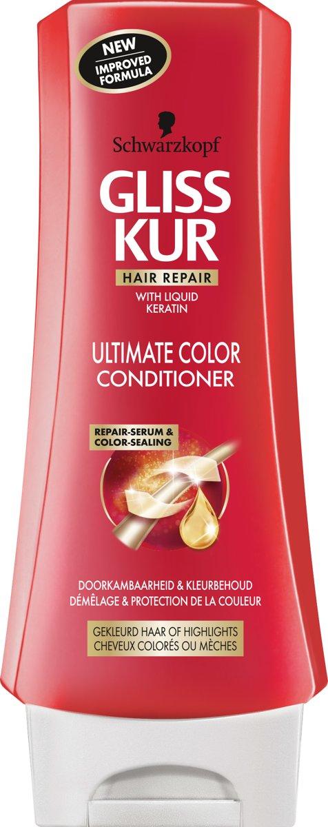 Gliss Kur Conditioner Color Protect And Shine 200ml