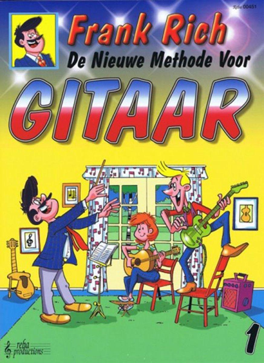 Reba Productions De nieuwe methode voor gitaar 1 gitaarboek