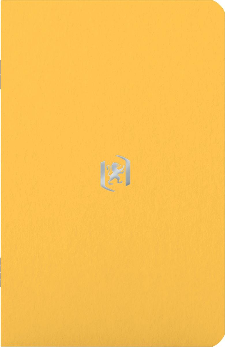 Oxford Pocket Notes, 9 x 14 cm, gelijnd, 48 bladzijden, geel