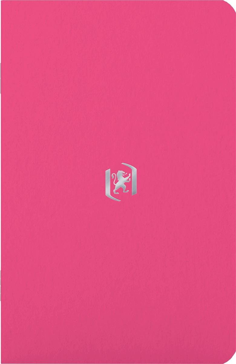 Oxford Pocket Notes, 9 x 14 cm, gelijnd, 48 bladzijden, roze