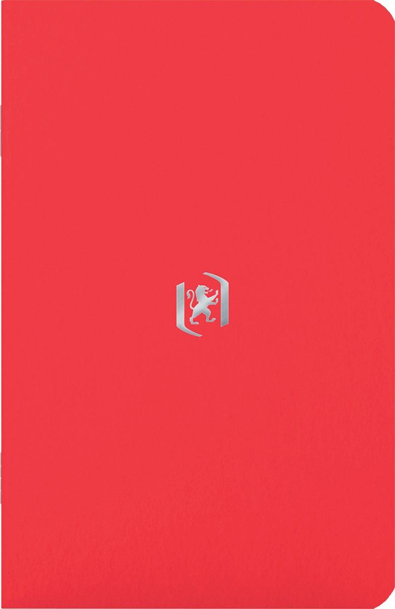 Oxford Pocket Notes, 9 x 14 cm, gelijnd, 48 bladzijden, tomatenrood