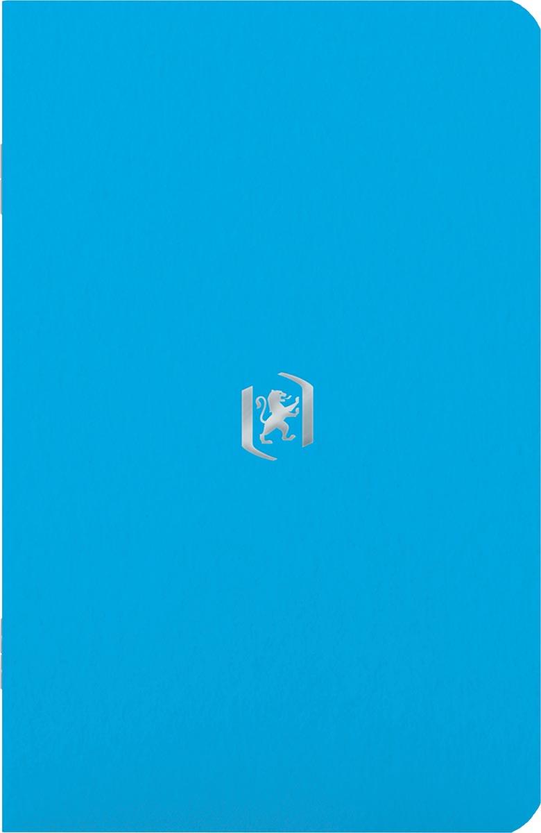 Oxford Pocket Notes, 9 x 14 cm, gelijnd, 48 bladzijden, lichtblauw
