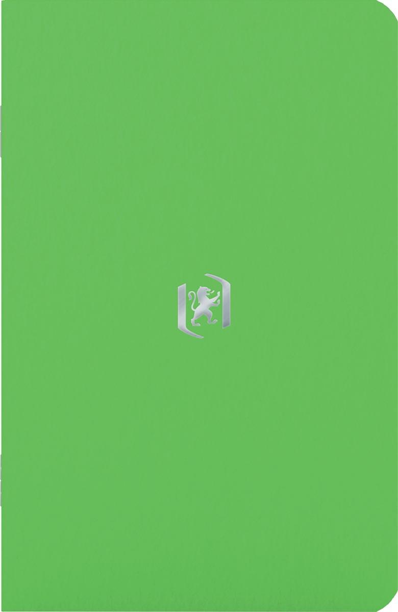 Oxford Pocket Notes, 9 x 14 cm, gelijnd, 48 bladzijden, groen