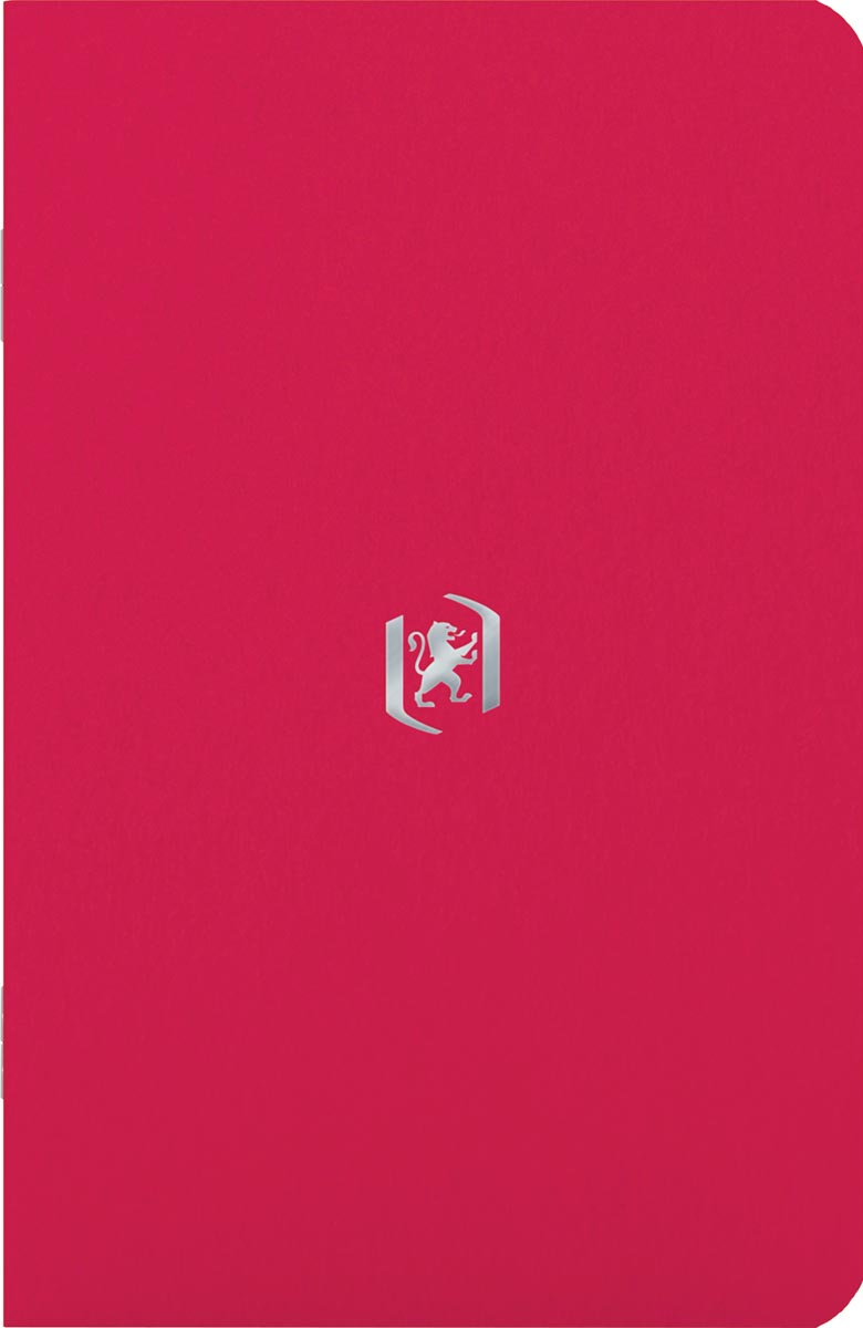 Oxford Pocket Notes, 9 x 14 cm, gelijnd, 48 bladzijden, rood