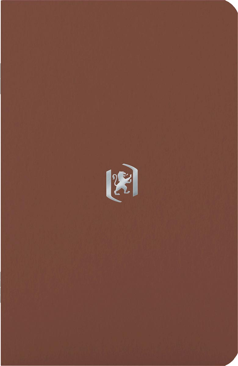 Oxford Pocket Notes, 9 x 14 cm, gelijnd, 48 bladzijden, chocoladebruin