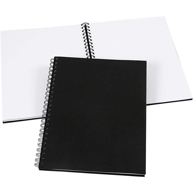 Creotime Notitieboek 23 X 30.5 Cm Zwart