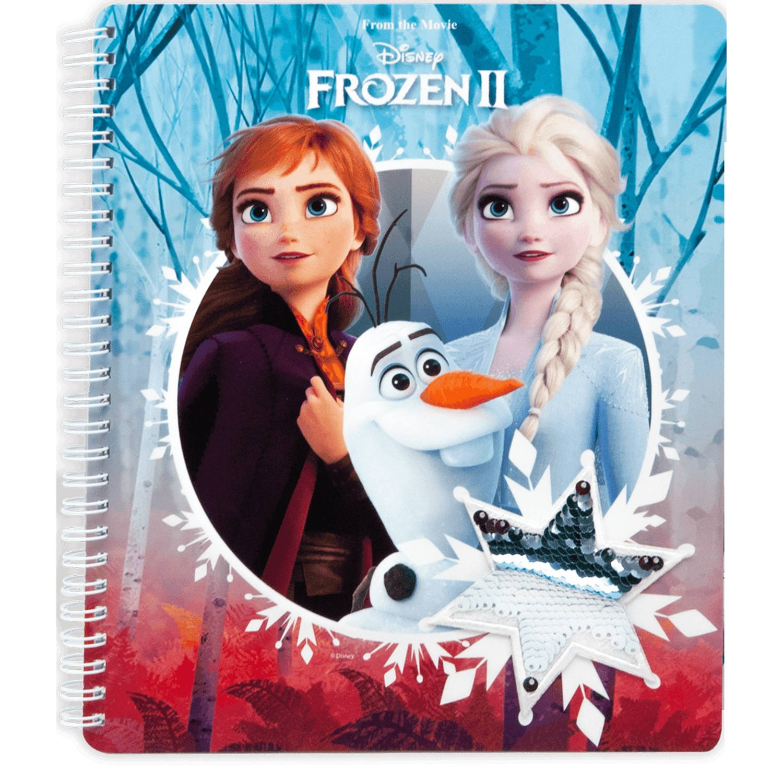 Frozen Notitieboek A5 Meisjes Papier Rood/blauw