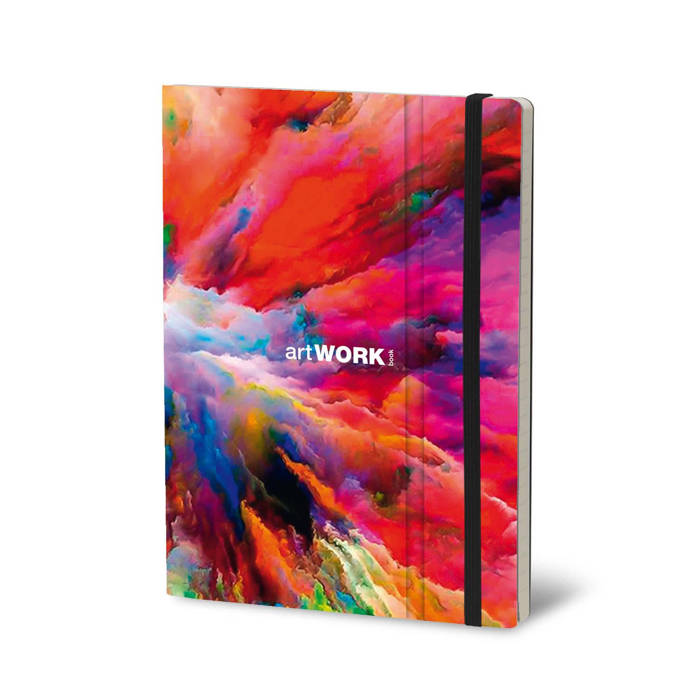 Stifflex Notitieboek Cloud Splash 15 X 21 Cm Papier 192 Pag's