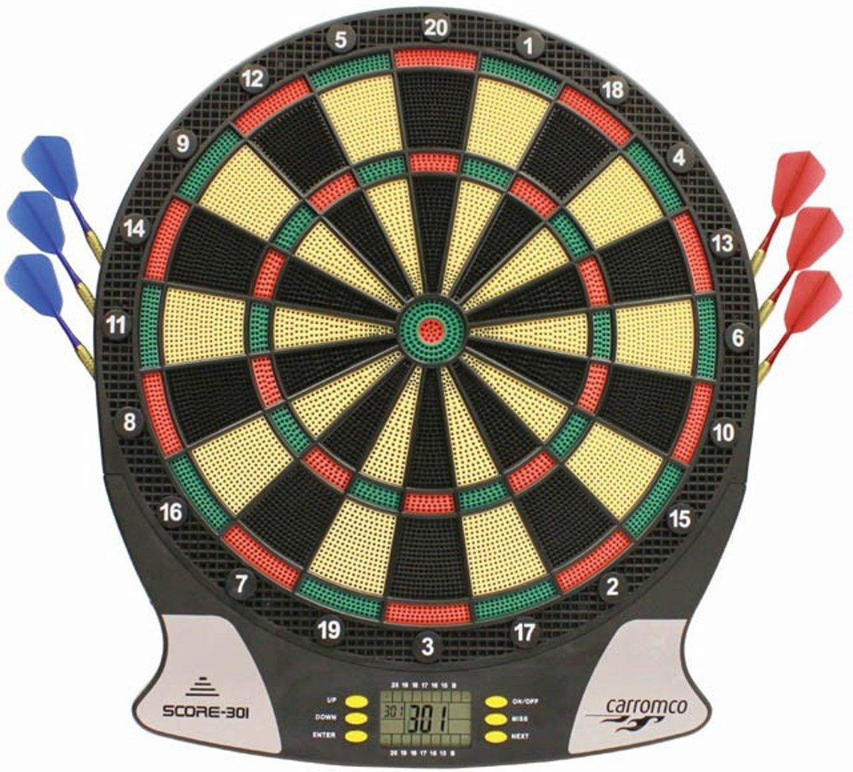 Dartbord Elektronisch, Dartbord - Score
