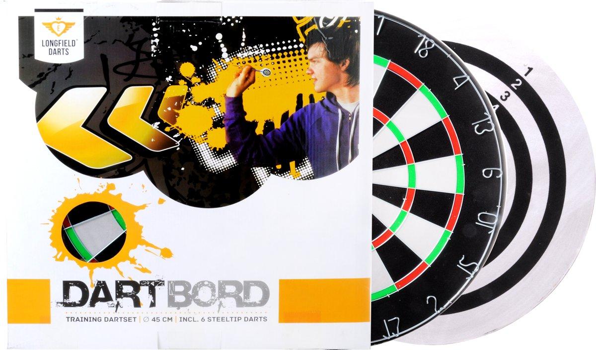 Dartbord + Dartpijlen