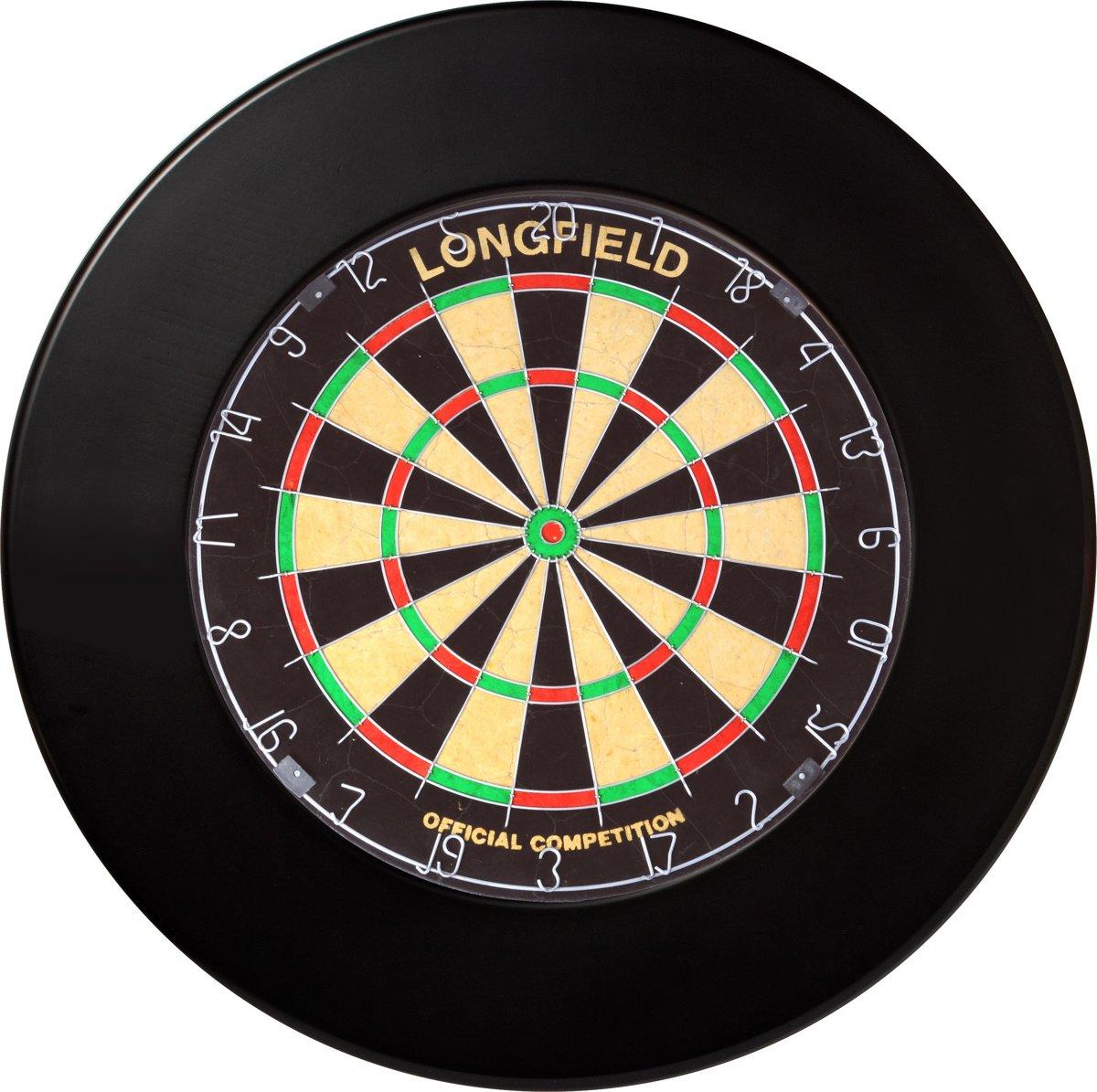 Longfield Darts Dartbord Surround PU Zwart
