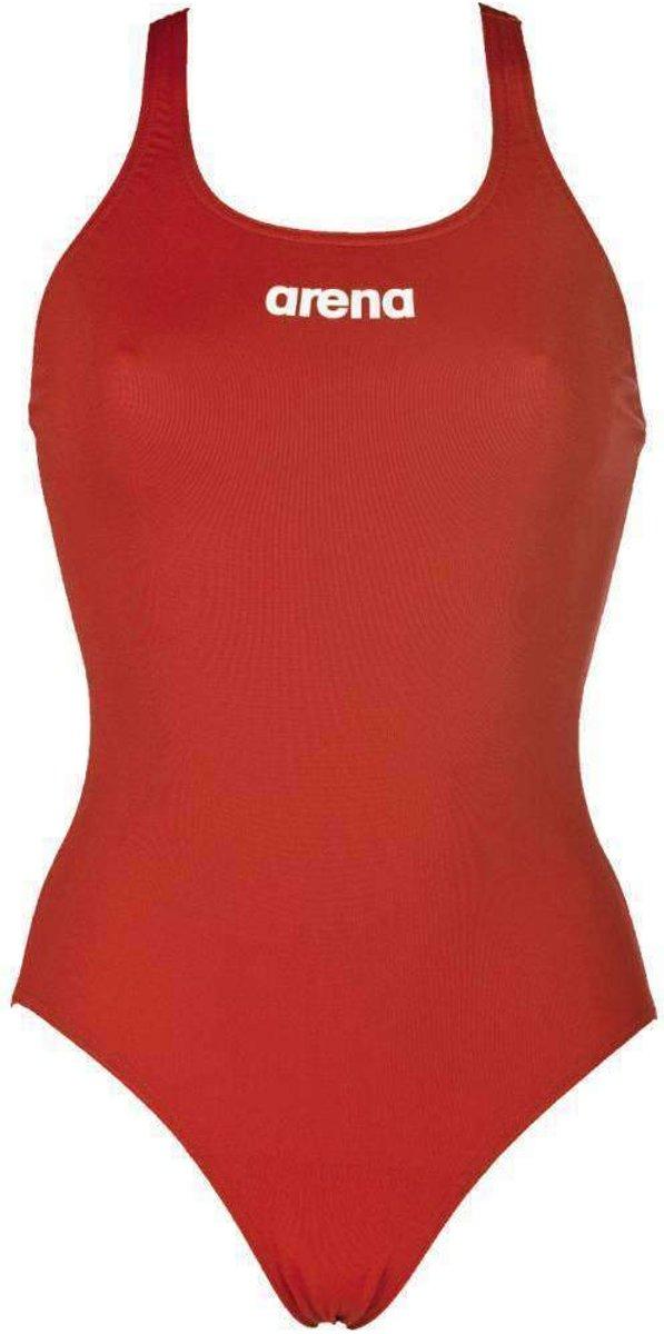 arena Solid Swim Pro Badpak Dames, red-white Maat DE 34 | US 30