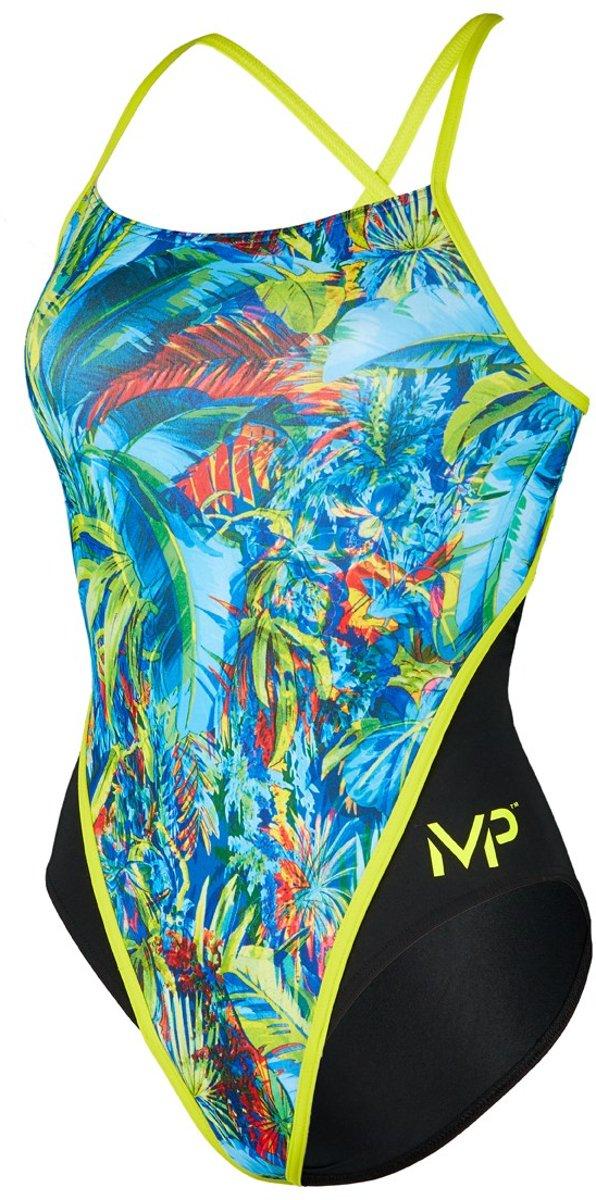 Michael Phelps Oasis RB - Badpak - Dames - 30 - Multicolor/Zwart