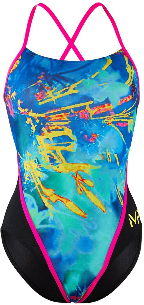 Michael Phelps Fusion RB - Badpak - Dames - Multicolor/Zwart - 34