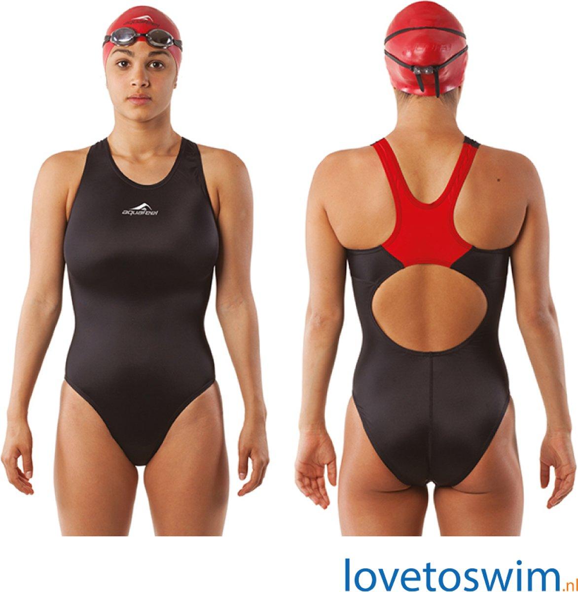 Aquafeel Comfort Back - Sportief badpak - Maat 44