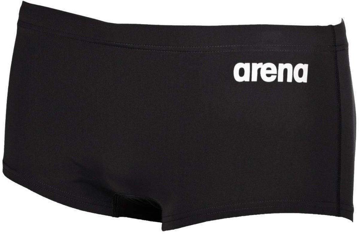 arena Solid Squared zwembroek Heren, black-white Maat DE 5 | US 34
