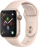 Apple smartwatch Serie 4 GPS 40 mm (Goud) Sportband