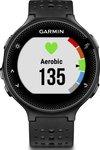 Garmin GPS-horloge met hartslagmeting aan de pols Forerunner 235 HRM zwart/grijs