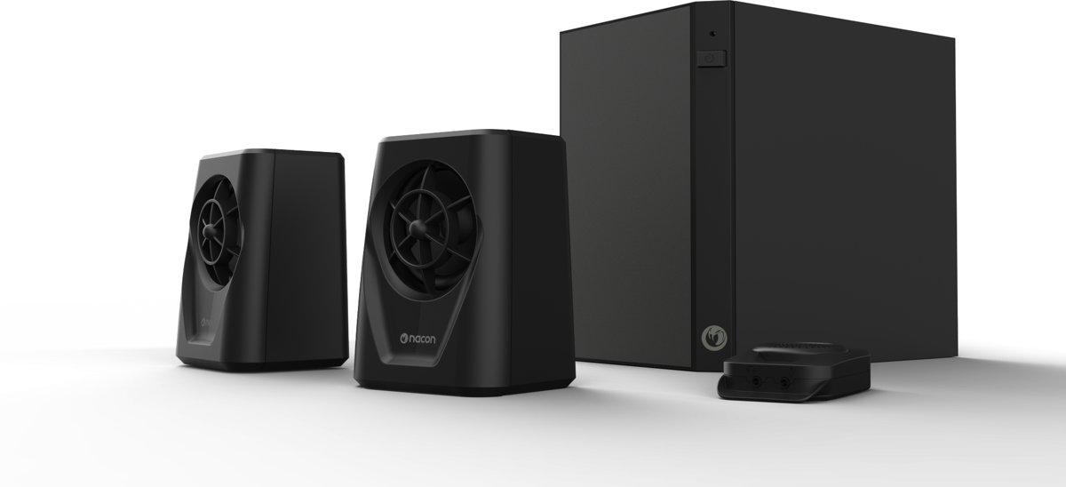 Nacon GA-200 2.1 Gaming Speakerset - PC/MAC - Zwart
