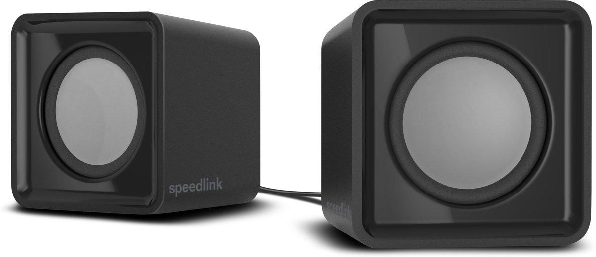 SpeedLink TWOXO 2.0 PC-luidsprekers Kabelgebonden 5 W Zwart