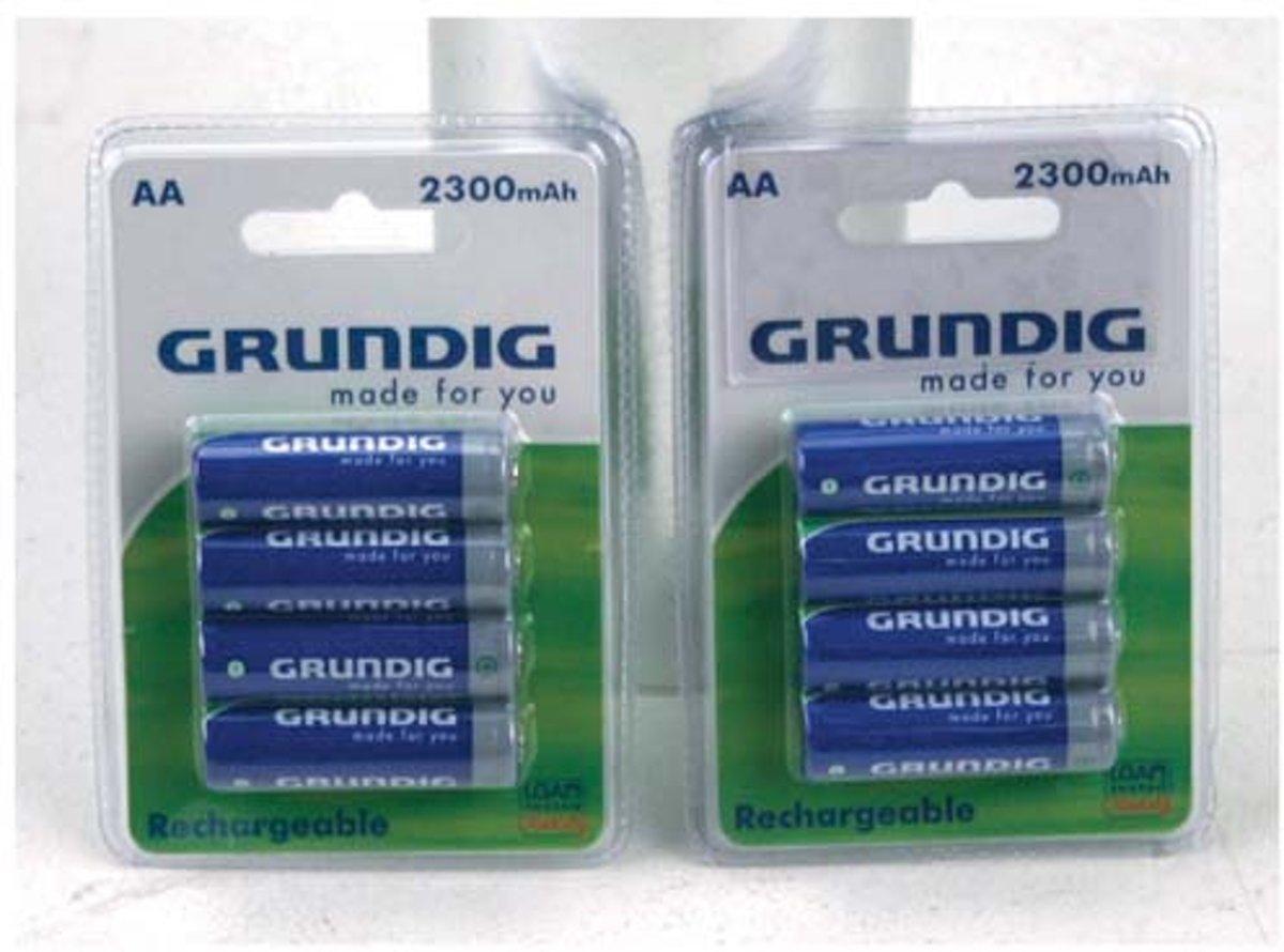 Grundig Batterijen AA Oplaadbaar 4 Stuks 2300mah
