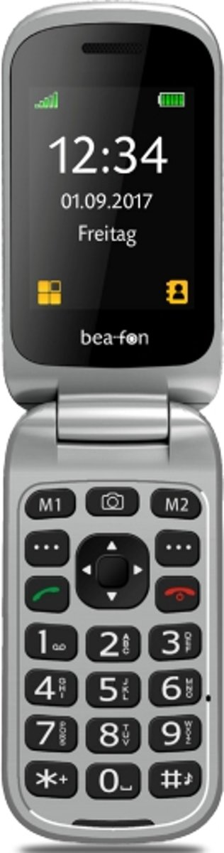 Blaupunkt BS02 Senioren mobiele telefoon Laadstation, SOS-knop Zwart