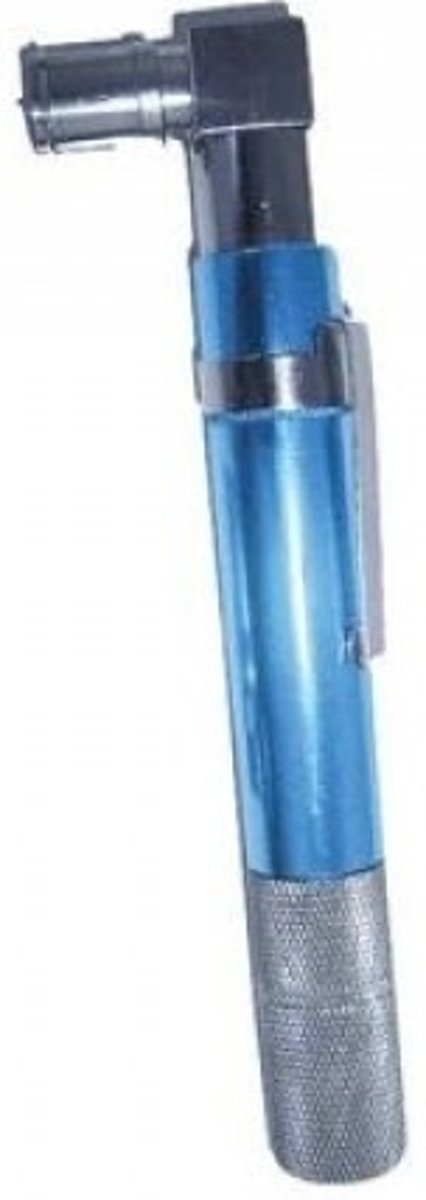 Hirschmann coaxkabel tester, ind LED en zoemer, voeding AA, met IEC aansluiting