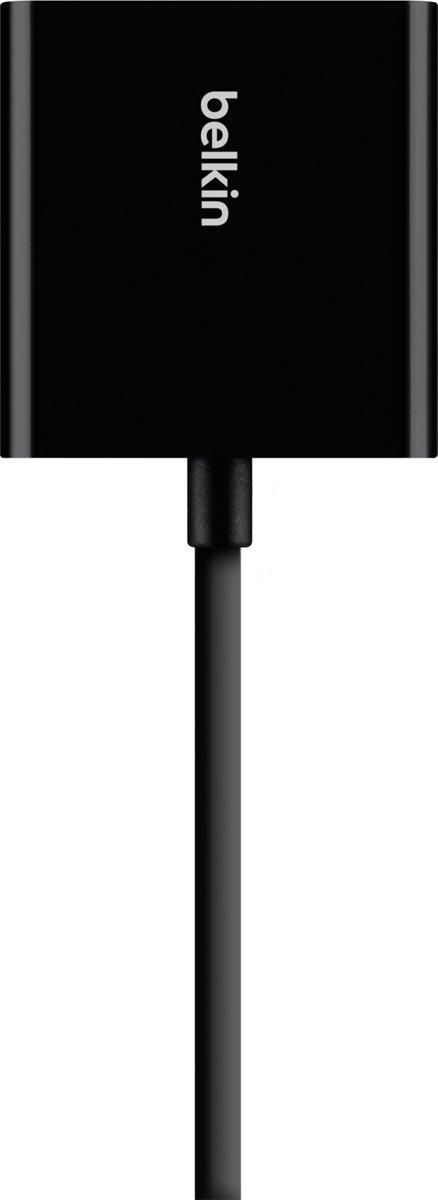 Belkin HDMI / VGA Adapter [1x HDMI-bus - 1x VGA-bus, Jackplug female 3.5 mm] Zwart