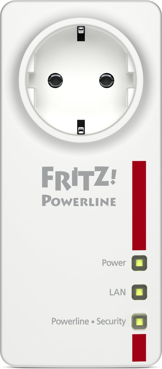 AVM FRITZ!Powerline 1220E Powerline enkele adapter 1.2 Gbit/s