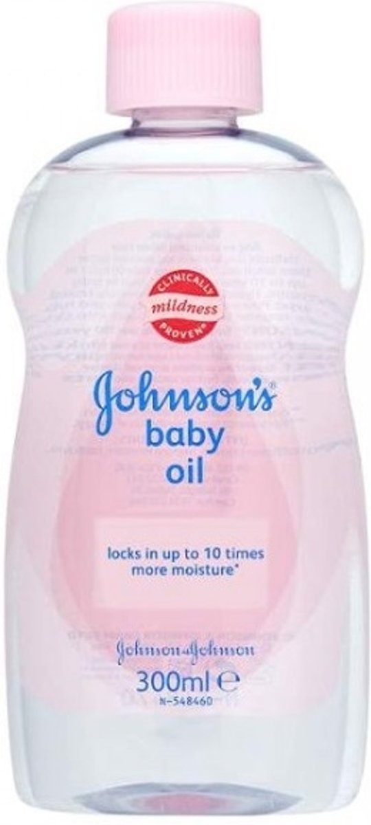 Johnson's Baby Olie  Roze - 300 ml