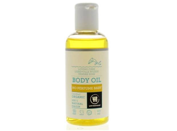 Urtekram Body Oil No Perfume Baby