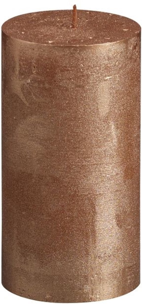 Bolsius Stompkaars Metallic Koper 130/68 mm