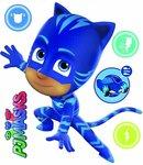 PJ Masks Cat Boy - Muursticker - Blauw