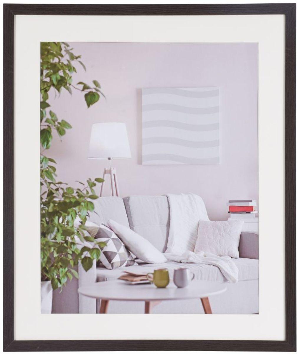Henzo Modern - Fotolijst - 50x60 cm - Fotoformaat 50x60 / 40x50 cm - Donker Bruin