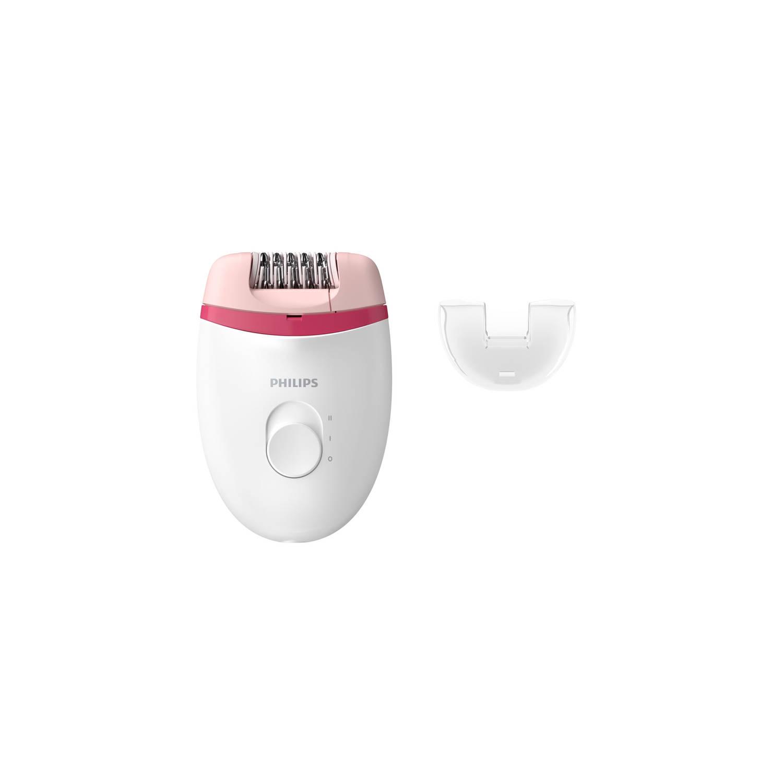 Philips epilator Satinelle Essential BRE235/00 - wit/roze