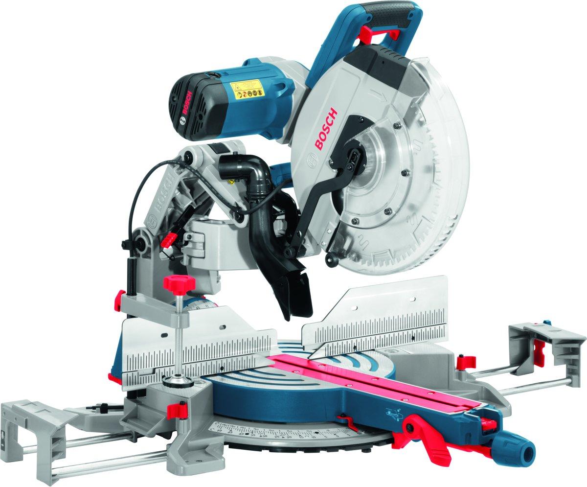 Verstek- en afkortzaag Bosch Professional GCM 12 GDL 2000 W 305 mm 30 mm