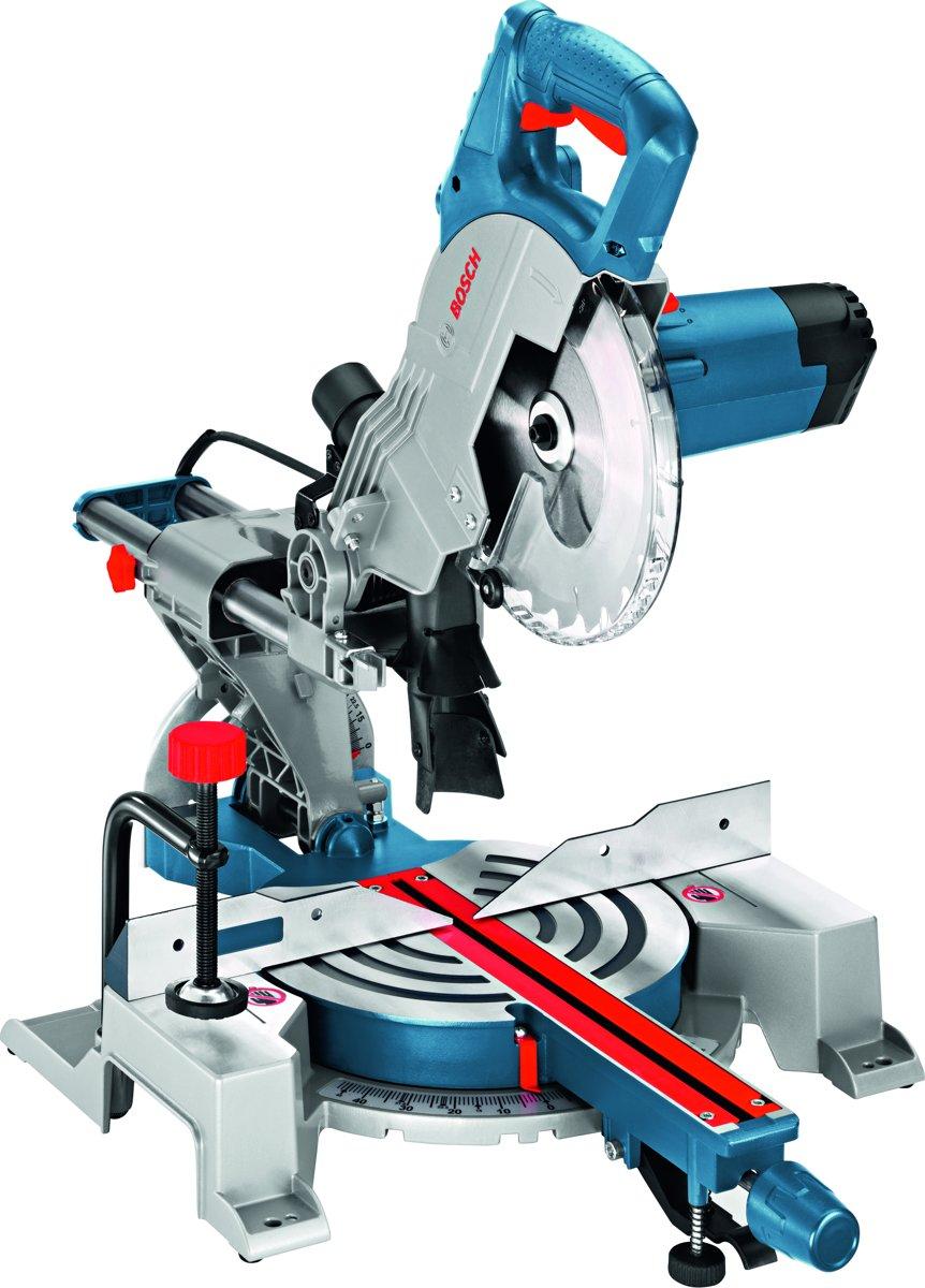 Paneelzaag Bosch Professional GCM 800 SJ 1400 W 216 mm 30 mm